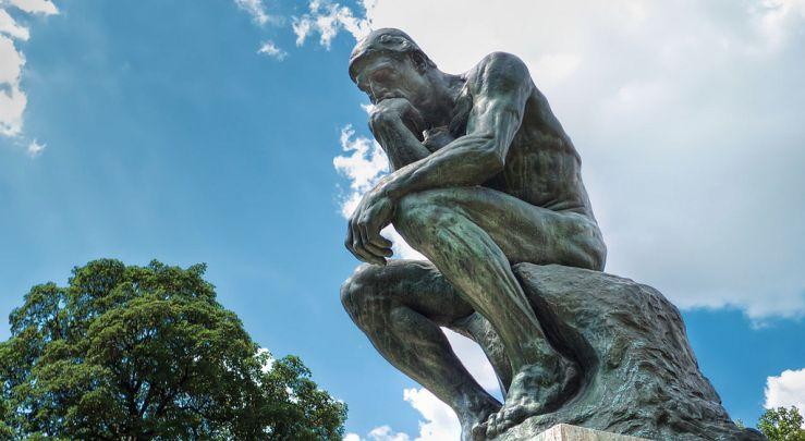 Le Penseur by Auguste Rodin, Musée Rodin, Paris